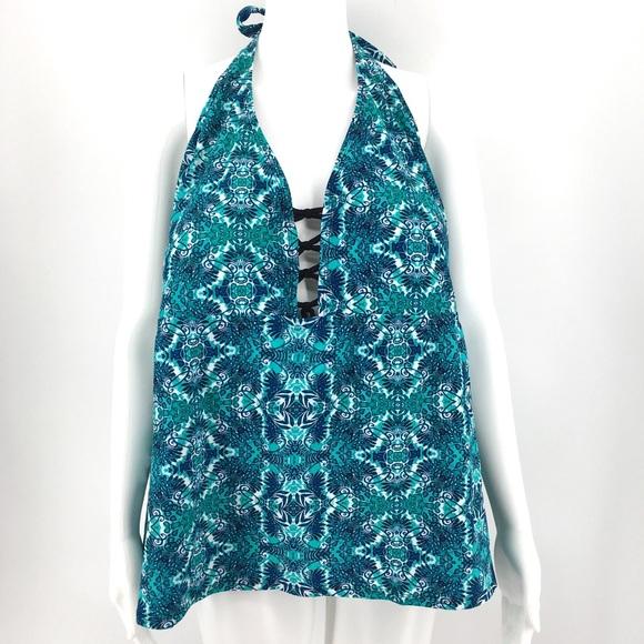 7c08af8697 Ava & Viv Swim   Nwot Tankini Top 26w Plus Size Suit Top Blue   Poshmark